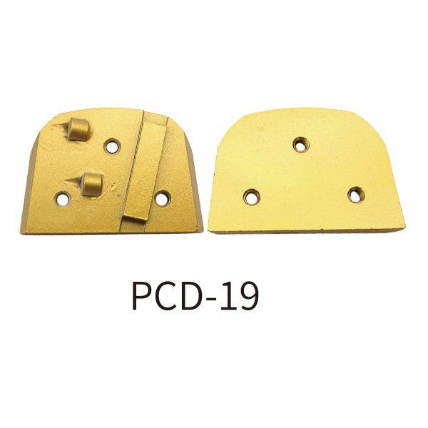 pcd-19-grinding-pad-for scraping coatings