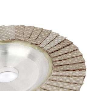 JOY-WMC6402(Shinning net )Diamond Flap Disc