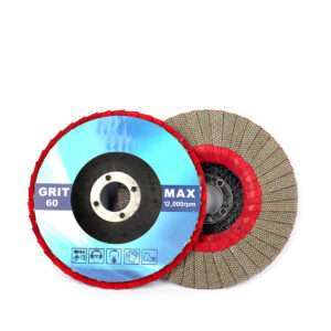 JOY-WMC65(Red cloth dot ) Diamond Flap Disc